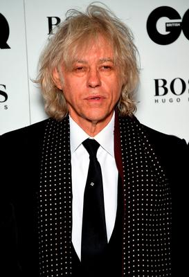 Sir Bob Geldof attends the GQ Men Of The Year Awards at The Royal Opera House