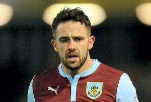 Burnley striker Danny Ings is a January target for Liverpool