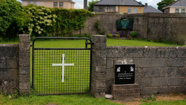 Remembering: The site of a mass grave for children who died in the Tuam mother and baby home. Photo: PA Archive/PA Images