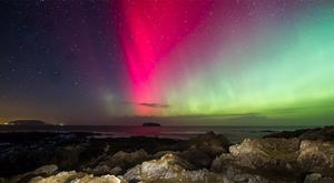 Pictures of the Aurora Borealis over Inishowen in north Donegal last March.