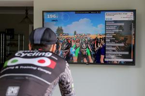 Nicholas Roche will be taking part in a unique virtual event that will take place on the Zwift online cycling platform to celebrate the 2020 Tour de France.