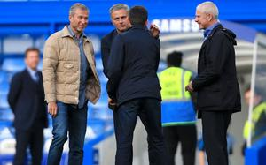 Dress-down: Roman Abramovich chooses to shun designer suits in favour of a more casual look