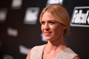 Actress January Jones attends the Fallout 4 video game launch event in downtown Los Angeles on November 5, 2015 in Los Angeles, California.  (Photo by Mike Windle/Getty Images for Bethesda)