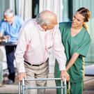 Under threat: There are warnings some nursing homes could face closure. Stock Image