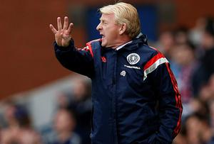 Scotland manager Gordon Strachan believes his team deserved a greater return from their trips to Germany and Poland in September and October. Photo: REUTERS/Russell Cheyne
