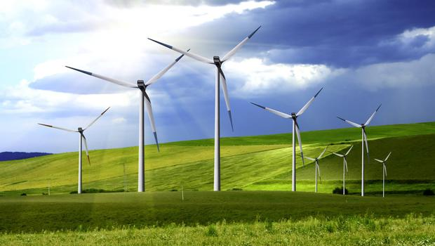 Seven wind farms are in line for funding
