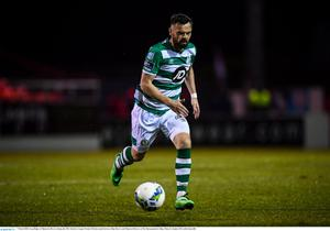 Greg Bolger is set to miss the rest of the League of Ireland season through injury. Photo by Stephen McCarthy/Sportsfile