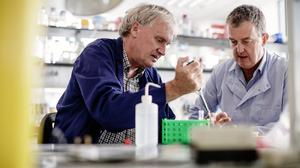 Prof. Luke O'Neill, Co-founder & Chief Scientific Officer & Dr Matt Cooper, Co-founder & Chief Executive Officer Inflazome