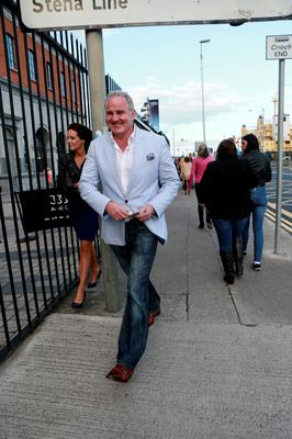 Brent Pope at the Beyonce concert at the O2, Dublin.