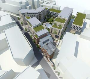 An artist's impression of the proposed Urbanest development at Mill Street in Dublin 8
