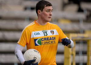 Conor McGourty proved potent for Antrim