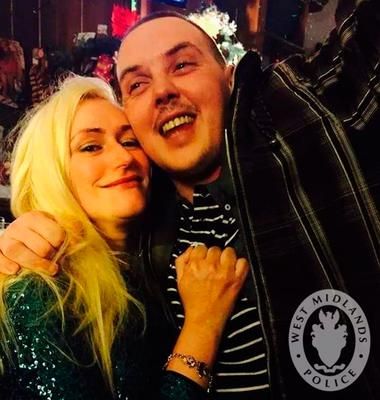 June Jones, who was found murdered in her West Bromwich flat on New Year's Eve, and her ex-partner, Michael Foran Photo: West Midlands Police/PA Wire