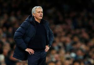 'Even Mourinho (pictured) and Van Gaal, for all their achievements, weren't up to the task.' Photo: Reuters/Eddie Keogh