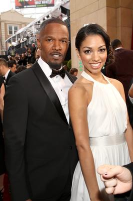 Actor Jamie Foxx (L) and Corinne Foxx attend the Oscars at Hollywood & Highland Center on March 2, 2014 in Hollywood, California.  (Photo by Christopher Polk/Getty Images)