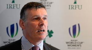 IRFU chief executive Philip Browne. Photo: Brendan Moran/Sportsfile