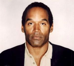 Fugitive: Larry King was able to tell TV viewers that OJ Simpson had a gun and was threatening to hurt himself. Photo: LAPD/ZUMA Archive/ZUMA Press