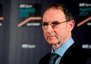 Martin O'Neill clearly respects what Roy Keane brings to the Ireland set-up. Picture credit: Piaras Ó Mídheach / SPORTSFILE