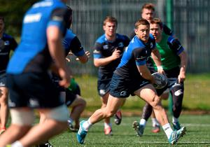 Jimmy Gopperth in action during training ahead of tonight's game against Ulster