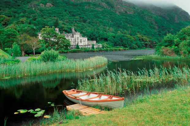 Kylemore Abbey in Co Galway which is home to 11 Benedictine nuns