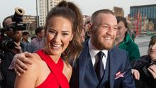 Dee Devlin and Conor McGregor at The Marker Hotel for the VIP Style Awards 2016