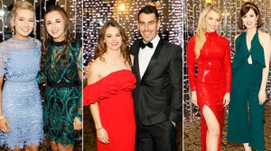 Red carpet style at the Ladies Football All Star Awards