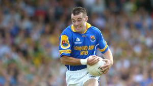 Paul Barden played for Longford between 1998 and 2005. Picture credit; Brendan Moran / SPORTSFILE