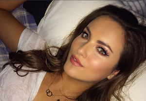 Holly shared a photograph as she prepared for last night's concert in Dublin's 3Arena