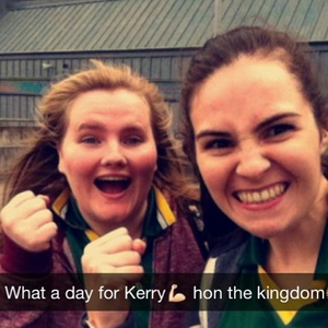 Come on the kingdom! I would love to be up there for Kerry to do the double once again Credit: KawwTeee  via Twitter