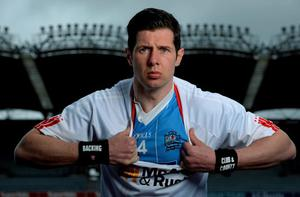 Sean Cavanagh at the launch of AIB's new club and county sponsorship campaign