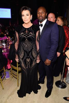 Kris Jenner and Corey Gamble attend the 2016 Angel Ball hosted by Gabrielle's Angel Foundation For Cancer Research on November 21, 2016 in New York City.  (Photo by Jamie McCarthy/Getty Images for Gabrielle's Angel Foundation)