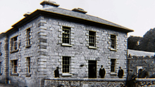 The old police barracks in Boyle, Co Roscommon