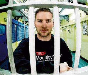 Philly McMahon did a TED talk in Mountjoy Prison last April and describes himself as 'socially motivated'. Photo: MaxwellPhotography.ie