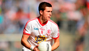 Conor McKenna in action for Tyrone