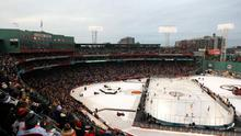 Fenway Park has played host to Ice Hockey in the past
