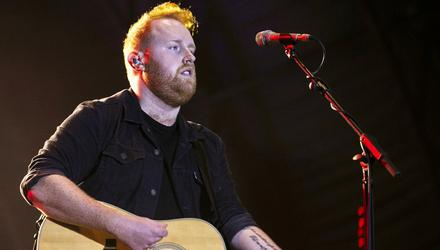 Together: Gavin James will perform a charity concert on YouTube on Thursday for Alone.