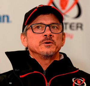 Ulster director of rugby Les Kiss. Photo: Sportsfile