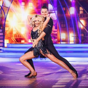 Aoibhin Garrihy and her partner Vitali on Dancing with the Stars