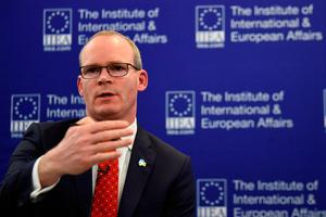 Support mission: Tánaiste Simon Coveney is travelling to the US next week where he will seek the backing of senior political figures. Photo: Reuters