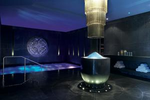 The heat experience at the ESPA at The Europe Hotel