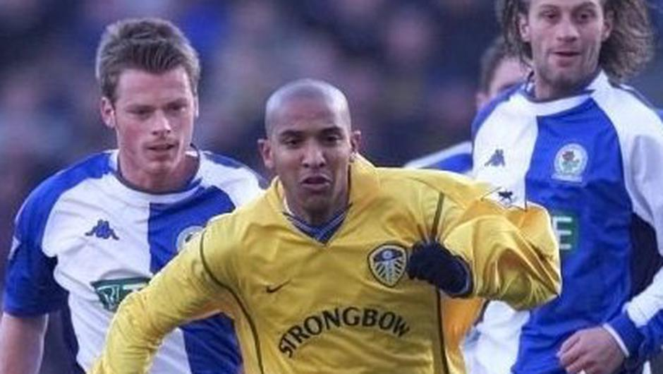 Alan Mahon (left) in action for Blackburn Rovers against Leeds United's Oliver Dacourt in 2001