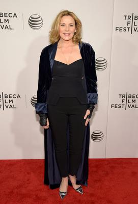 "Actress Kim Cattrall attends Tribeca Talks: After The Movie: ""NOW: In the Wings On A World Stage"" during the 2014 Tribeca Film Festival at BMCC Tribeca PAC on April 21, 2014 in New York City."