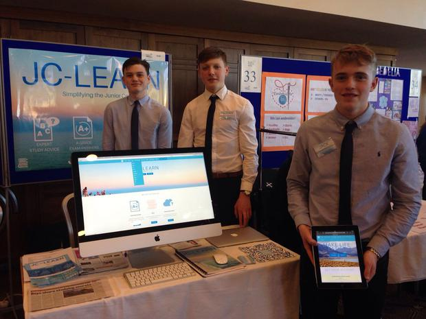 (Left to right) J-C Learn founders: Johnnie Bell, Eamonn Flannery and Jack Manning.
