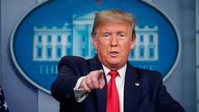 US President Donald Trump takes questions during the daily briefing on the novel coronavirus, COVID-19, at the White House on March 24, 2020, in Washington, DC (Photo: Getty Images)