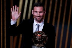 Lionel Messi has won the Ballon d'Or six time. REUTERS/Christian Hartmann