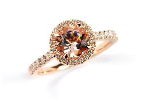 Morganite Florence ring by Stonechat