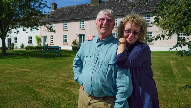 Philip and Delphine Geoghegan's farmhouse was purchased in 1994.