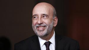 Gabriel Makhlouf  has called for a move to regulate funds. Photo: Vivek Prakash/Bloomberg