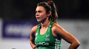 Irish hockey star Deirdre Duke says menstrual cycles affect every sportswoman differently and it is something, in terms of research, that needs more attention. Photo: Brendan Moran/Sportsfile