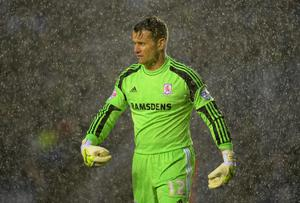 Ireland 'keeper Shay Given looks set to spend the rest of the season at Middlesbrough