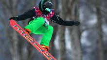 Seamus O'Connor of Ireland competes in the Snowboard Men's Halfpipe Qualification Heats on day four of the Sochi 2014 Winter Olympics